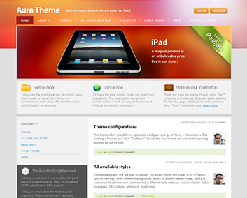 Drupal Templates | Our Premium Free Drupal Themes Drupal And Symfony2 Developers And