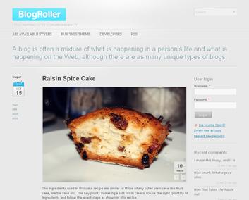Blogroller Drupal theme