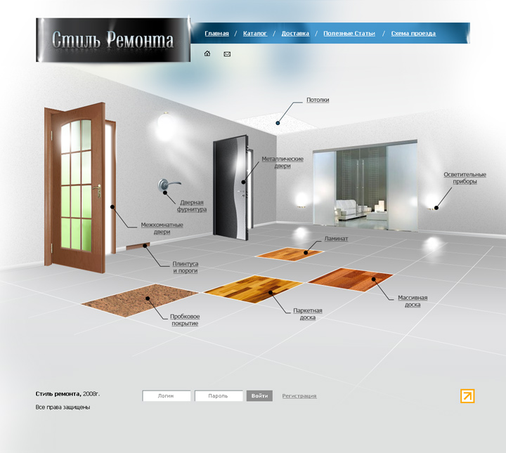 Scope of work & Design for «Style of Remodeling» | Drupal and Symfony2 developers ...